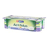 Yaourts actifidus 0% Delisse Ferme nature 8x125g
