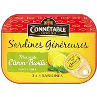 CONNA © Table Sardines à Lemon & Basil (140g) - Paquet de 2