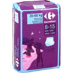 culottes enfants nuit taille 35 60kg 8 15 ans tous les produits couches prixing. Black Bedroom Furniture Sets. Home Design Ideas