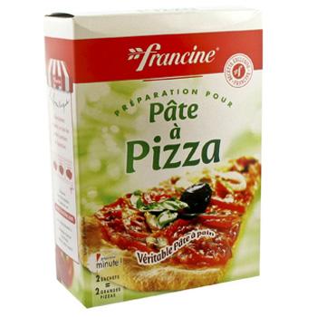 preparation pour pate a pizza francine 520g tous les produits farines prixing