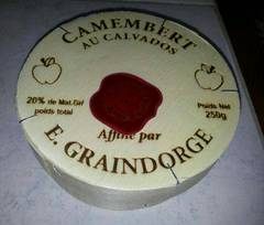 Camembert au calvados, 20%MG, 250g