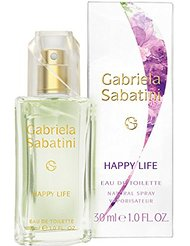 Gabriela Sabatini Happy Life, eau de toilette (30 ml)