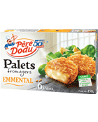 Palets fromagers emmental, PERE DODU, 150g