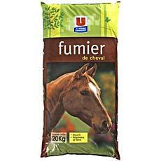 fumier de cheval u 20kg tous les produits sport et activit s de plein air prixing. Black Bedroom Furniture Sets. Home Design Ideas