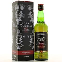 Clan campbell scotch whisky 40° -70cl tin box 2011