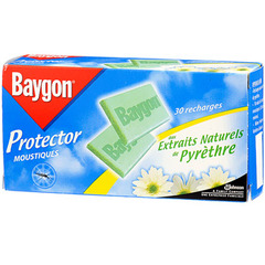 Recharge Baygon Protector 30 plaquettes