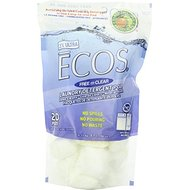 Earth Friendly Products Ecos Laundry Powder Pods Fragrance Free (Pack of 1, Total 20 Pods)