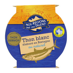 Thon blanc Bretagne nature Nos Regions ont du Talent 160g