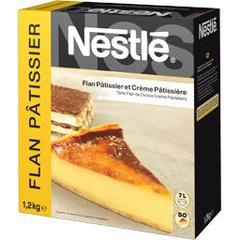 Nestle, Preparation pour flan patissier et creme patissiere, etui de 1,2 kg pour 40 a 50 portions