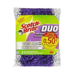 Eponge Gratton Duo SCOTCH BRITE, 2 unites