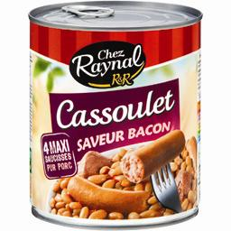 Cassoulet saveur bacon Chez Raynal RAYNAL ET ROQUELAURE, 840g
