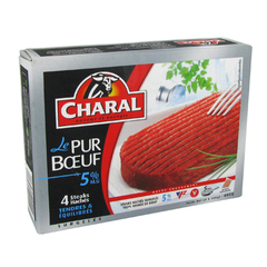Charal le pur boeuf 5% mg 4x100g
