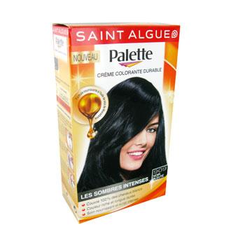 st algue palette coloration noir bleute n909 image_1 - Coloration Saint Algue