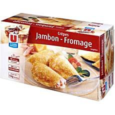 20 Crepes jambon fromage U, 1kg