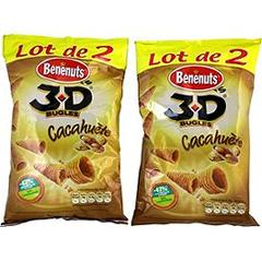 3D's cacahuetes 2x85g