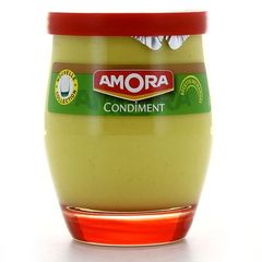 Condiment Amora verre de table 245g