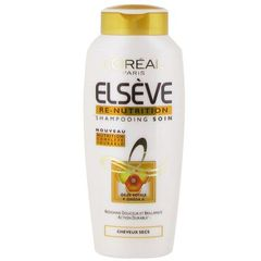 Shampooing soin cheveux secs ou desseches, Re-nutrition, le flacon de 250ml