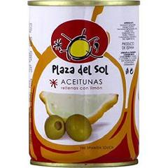 Plaza del sol Olives farcies citron 120G