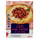 Chili con carne et riz long