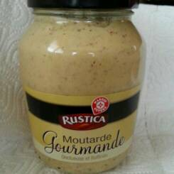Moutarde gourmande Rustica 340g