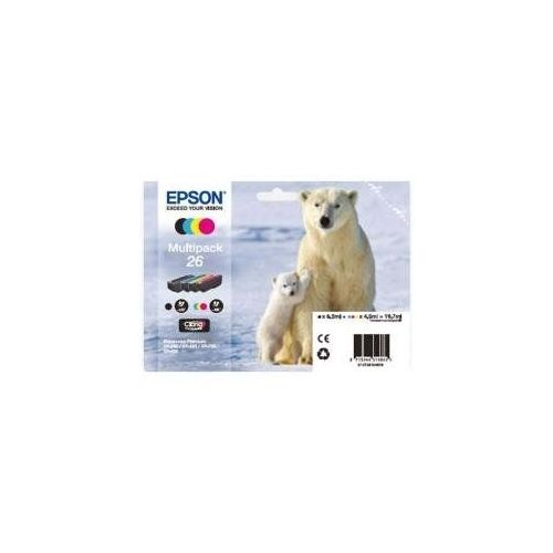 PACK 4 CART.EPSON T2616 OURS POLAIRE