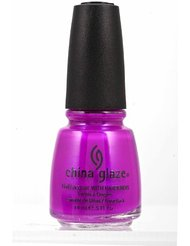 China Glaze Vernis à Ongles Effet Irisé Purple Panic Neon 14 ml