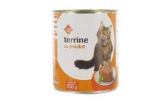 Alimentation chat terrine poulet 800g