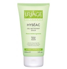 Uriage Hyseac Gel Nettoyany Doux Gentle Cleansing Gel for Combination to Oily Skin 150 Ml