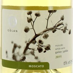 Vin blanc moelleux Moscato 6%vol