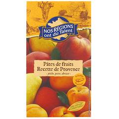 Pates de fruits jaunes Provence Nos Regions ont du Talent 180g