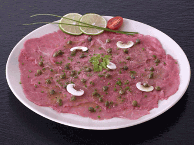 Carpaccio aux olives CHARAL, 230g