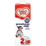 Cow & Gate Grandir lait Ready Made for Toddlers 1-2yr + (1L) - Paquet de 6