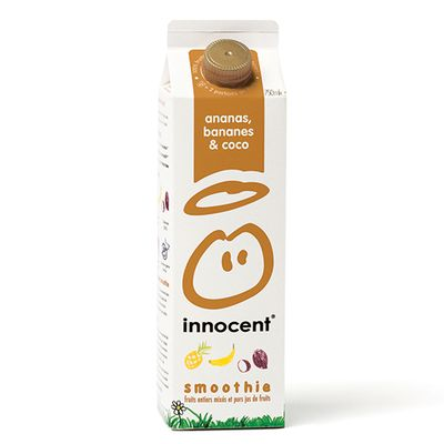 Smoothie ananas, banane, coco INNOCENT, 750ml