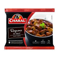 Rognons de boeuf sauce Madere CHARAL, 2x190g