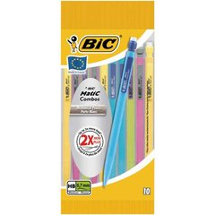 11 Portemines Matic Combos BIC, mines HB 0,7mm