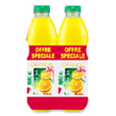 Auchan pur jus d'orange avec pulpe 4x1l